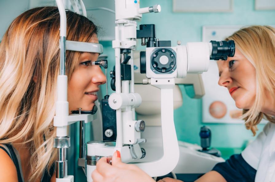 בדיקת קרקעית העין - בדיקת רשתית