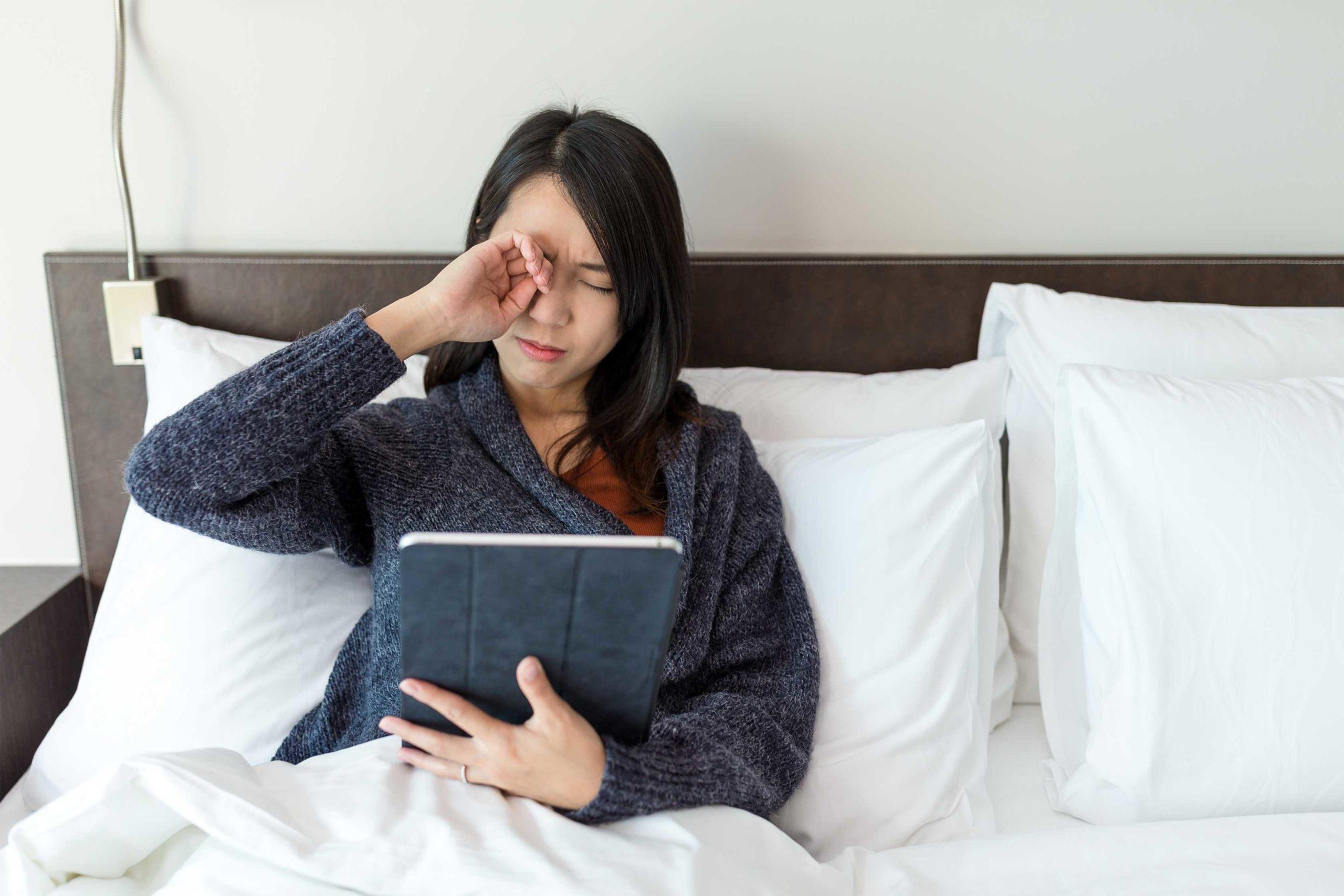 כאבי עיניים כתוצאה מלחץ תוך עיני גבוה