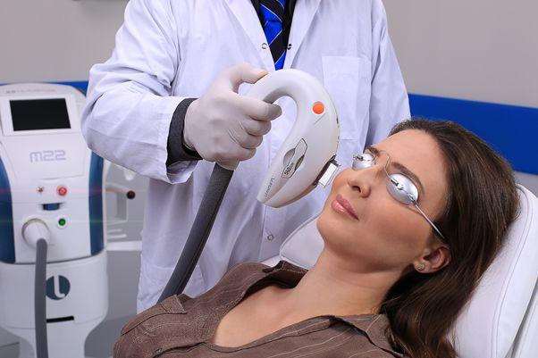 טיפול בעיניים יבשות בשיטת IPL