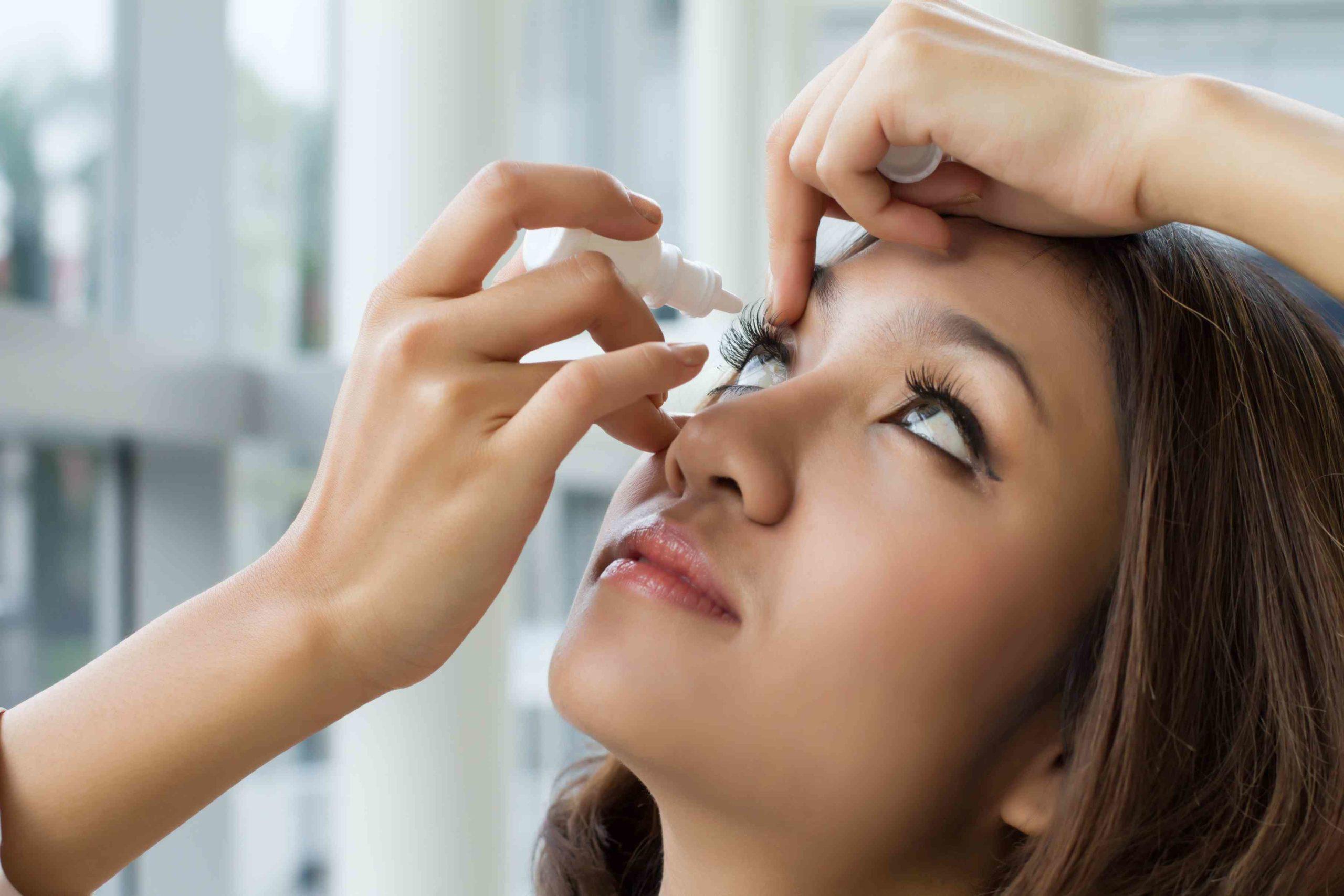 טיפות עיניים במקרה של גוף זר בעין